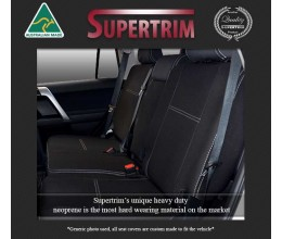 REAR Seat Covers Snug Fit for MAZDA BT-50 TF (2021-Now), Premium Neoprene (Automotive-Grade) 100% Waterproof