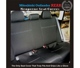 MITSUBISHI CHALLENGER REAR NEOPRENE WATERPROOF UV TREATED WETSUIT CAR SEAT COVER Copy