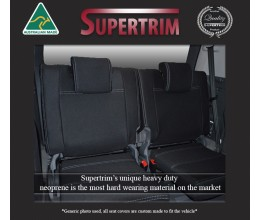 REAR seat covers Custom Fit Suzuki Jimmy (2019-Now), Premium Neoprene, Waterproof