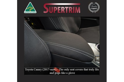 Console Lid Cover suitable for Toyota Camry Premium Neoprene (Automotive-Grade) 100% Waterproof