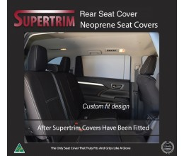 Subaru Levorg REAR Custom Car Seat Covers Premium Neoprene (Wetsuit)