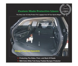 Mazda CX-7 Cargo / Boot / Luggage Rear Compartment Protection Liner