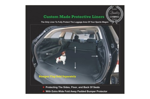 2000 - Now Mitsubishi Pajero Cargo/Boot/Luggage Rear Compartment Protect Liner